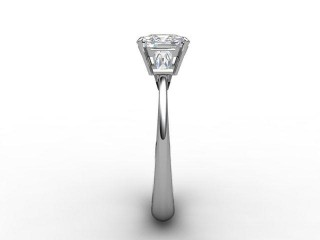 Certificated Cushion-Cut Diamond in Palladium - 6