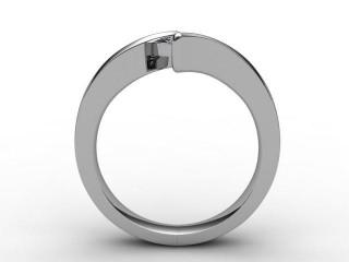 Certificated Cushion-Cut Diamond Solitaire Engagement Ring in Palladium - 3