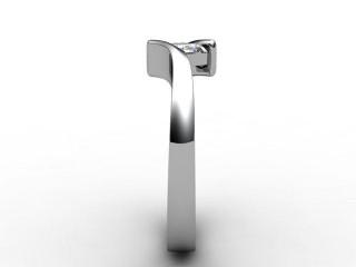 Certificated Asscher-Cut Diamond Solitaire Engagement Ring in Platinum - 6