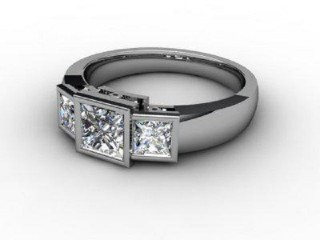 Trilogy Platinum Asscher-Cut Diamond-06-0133-1008
