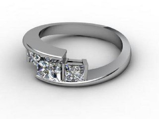 Trilogy Platinum Asscher-Cut Diamond-06-0133-2301