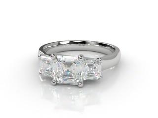 Trilogy Platinum Asscher-Cut Diamond-06-0133-2307