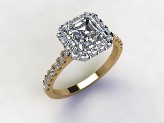 Certificated Asscher-Cut Diamond in 18ct. Gold - 12