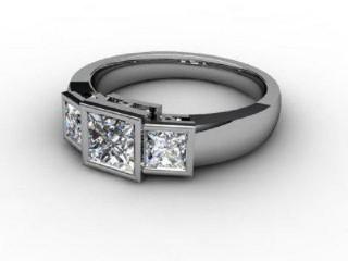 Trilogy Palladium Asscher-Cut Diamond-06-6633-1008