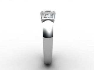 Trilogy Palladium Asscher-Cut Diamond - 9