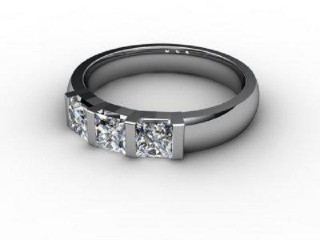 Trilogy Palladium Asscher-Cut Diamond-06-6633-1018