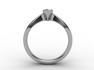 Certificated Marquise Diamond Solitaire Engagement Ring in Platinum - 6