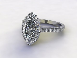Certificated Marquise Diamond in Platinum-07-0100-8934