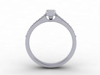 Certificated Marquise Diamond in Platinum - 3