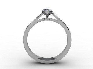 Certificated Marquise Diamond in Platinum - 3