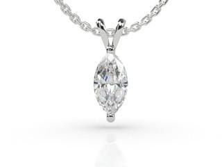 Certified Marquise Diamond Pendant -07-01911