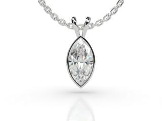 Certified Marquise Diamond Pendant -07-01912