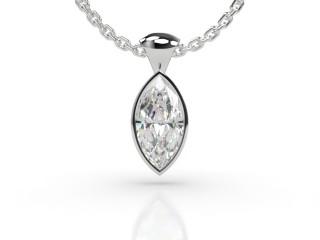 Certified Marquise Diamond Pendant -07-01914
