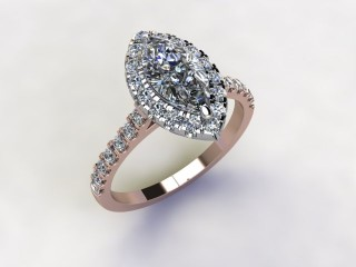 Certificated Marquise Diamond in 18ct. Rose Gold - 15