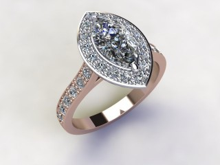 Certificated Marquise Diamond in 18ct. Rose Gold - 12