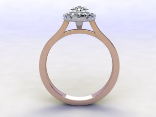Certificated Marquise Diamond in 18ct. Rose Gold - 3