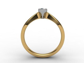 Certificated Marquise Diamond Solitaire Engagement Ring in 18ct. Gold - 6