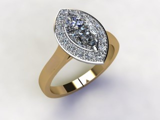 Certificated Marquise Diamond in 18ct. Gold - 15