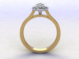Certificated Marquise Diamond in 18ct. Gold - 3