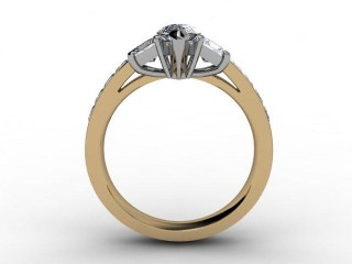 Certificated Marquise Diamond in 18ct. Gold - 6