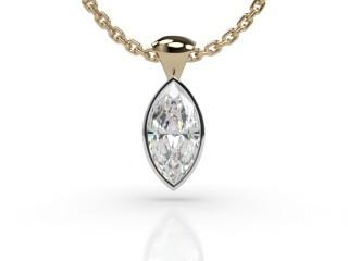 Certified Marquise Diamond Pendant