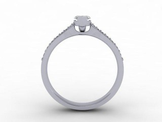 Certificated Marquise Diamond in Palladium - 6