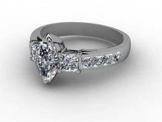 Certificated Marquise Diamond in Palladium