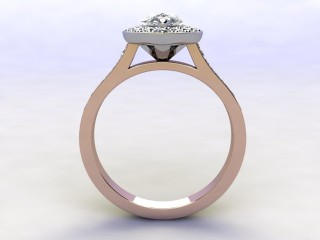Certificated Pear Shape Diamond in 18ct. Rose Gold - 3