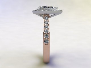 Certificated Pear Shape Diamond in 18ct. Rose Gold - 6