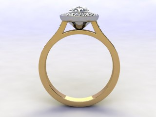 Certificated Pear Shape Diamond in 18ct. Gold - 6