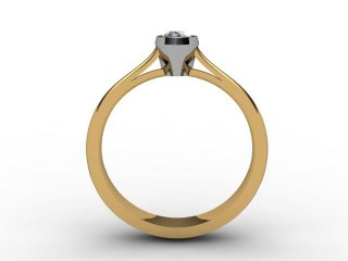 Certificated Pear Shape Diamond in 18ct. Gold - 3