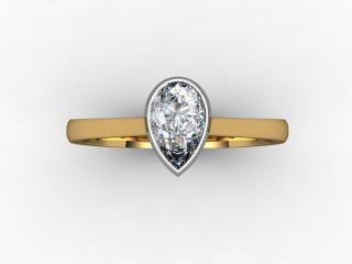 Certificated Pear Shape Diamond in 18ct. Gold - 9