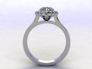Certificated Heart Shape Diamond in Platinum - 3