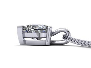Certified Heart Shape Diamond Pendant  - 3