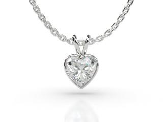 Certified Heart Shape Diamond Pendant -09-01912