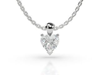Certified Heart Shape Diamond Pendant -09-01913