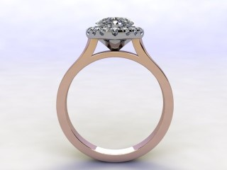 Certificated Heart Shape Diamond in 18ct. Rose Gold - 3