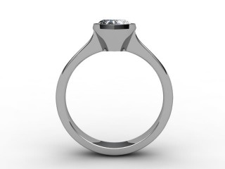 Certificated Heart Shape Diamond Solitaire Engagement Ring in 18ct. White Gold - 3