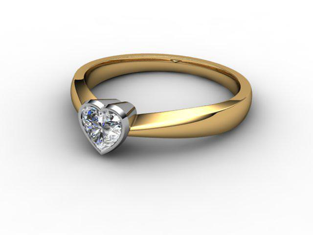 Heart Shape Diamond Engagement Rings