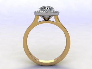 Certificated Heart Shape Diamond in 18ct. Gold - 3