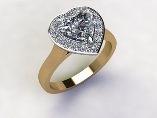 Certificated Heart Shape Diamond in 18ct. Gold - 12