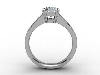 Certificated Radiant-Cut Diamond Solitaire Engagement Ring in Platinum - 6