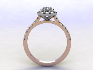 Certificated Radiant-Cut Diamond in 18ct. Rose Gold - 3