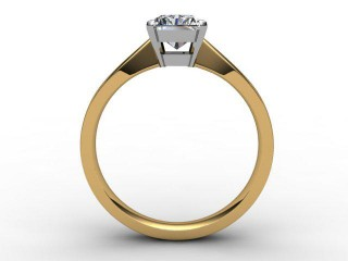 Certificated Radiant-Cut Diamond Solitaire Engagement Ring in 18ct. Gold - 3
