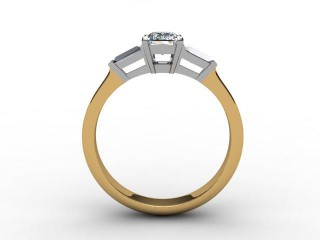 Certificated Radiant-Cut Diamond in 18ct. Gold - 6