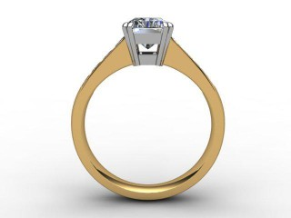 Certificated Radiant-Cut Diamond in 18ct. Gold - 3