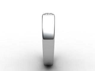 Certificated Radiant-Cut Diamond Solitaire Engagement Ring in Palladium - 6