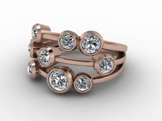 18ct. Rose Gold & Diamond-44-04001