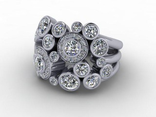 18ct. White Gold & Diamond-44-05002