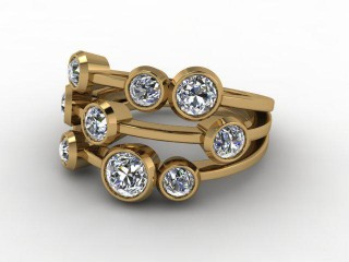 18ct. Yellow Gold & Diamond-44-18001